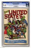 Golden Age (1938-1955):Non-Fiction, Your United States #nn Crowley Copy pedigree (Lloyd Jacquet Studios, 1946) CGC VF/NM 9.0 Cream to off-white pages. Sid Green...