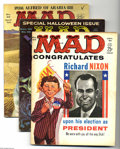 Magazines:Humor, Mad Box Lot (EC, 1960-95) Condition: Average VG+. Full short boxlot includes issues of Mad, Mad Super Special, Ma...