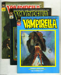 Magazines:Horror, Vampirella Group (Warren, 1971-73) Condition: Average VF. This group contains issues #14, 15, 16, 23, 24, 25, 26, and 27. Is... (8 Comic Books)