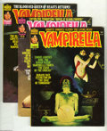 Magazines:Horror, Vampirella Group (Warren, 1976-80) Condition: Average VF. This group contains issues #51, 52, 60, 62, 64, 65, 66, 67, 68, 69... (22 Comic Books)