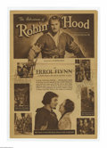 "Movie Posters:Adventure, The Adventures of Robin Hood (Warner Brothers, 1938). Herald (15.5""X 22"" Unfolded). Offered here is a vintage herald for th..."