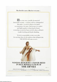 "The Devils (Warner Brothers, 1971). One Sheet (27"" X 41""). One of the most controversial films of its day, Ken..."