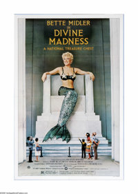"""Divine Madness (Warner Brothers, 1980). One Sheet (27"""" X 41""""). Offered here is a vintage, theater-used poster..."""
