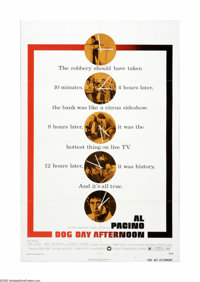 "Dog Day Afternoon (Warner Brothers, 1975). One Sheet (27"" X 41""). Offered here is a vintage, theater-used post..."