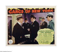 """Gangs of New York (Republic, 1938). Title Lobby Card (11"""" X 14""""). Offered here is a vintage, theater-used post..."""