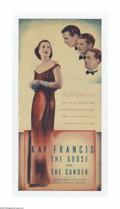 """Movie Posters:Comedy, The Goose and the Gander (Warner Brothers, 1935). Herald (5 3/4"""" X 12"""" Unfolded). Offered here is a vintage, theater-used he..."""