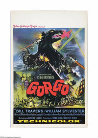 "Gorgo (MGM, 1961). Belgian Poster (14"" X 21""). Offered here is a vintage, theater-used poster for this sci-fi..."