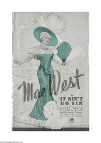 It Ain't No Sin (Belle of the Nineties) (Paramount, 1934). Pressbook (Multiple Pages). In 1934 Paramount prepared to lau...