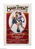 """Movie Posters:Sports, The Main Event (Warner Brothers, 1979). One Sheet (27"""" X 41""""). Offered here is a vintage, theater-used poster for this sport..."""
