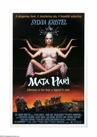 """Mata Hari (Cannon, 1985). One Sheet (27"""" X 41""""). Offered here is a vintage, theater-used poster for this war d..."""