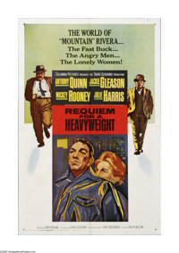"Requiem for a Heavyweight (Columbia, 1962). One Sheet (27"" X 41""). Offered here is a vintage, theater-used pos..."