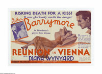 Reunion in Vienna (MGM, 1933). Herald. Offered here is a vintage, theater-used herald for this romantic drama directed b...