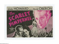 """Movie Posters:Adventure, The Scarlet Pimpernel (United Artists, 1935). Herald (6"""" X 9""""Unfolded). Offered here is a vintage, theater-used Herald for ..."""