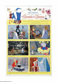 "Movie Posters:Action, The Sword in the Stone (Buena Vista, 1963). One Sheet (27"" X 41"")Style B. Offered here is a vintage, theater-used poster fo..."