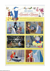 "The Sword in the Stone (Buena Vista, 1963). One Sheet (27"" X 41"") Style B. Offered here is a vintage, theater-..."