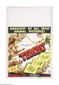 "Movie Posters:Documentary, Tembo (RKO, 1952). Window Card (14"" X 22""). Offered here is a vintage, theater-used poster for this adventure directed by Ho..."