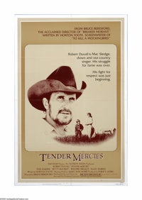 """Tender Mercies (Universal, 1983). One Sheet (27"""" X 41""""). Offered here is a vintage, theater-used poster for th..."""