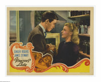 """Vivacious Lady (RKO, 1938). Lobby Card (11"""" X 14""""). Offered here is a vintage, theater-used lobby card for thi..."""