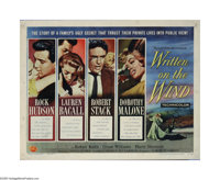 "Written on the Wind (Universal, 1956). Half Sheet (22"" X 28""). Douglas Sirk directs this Texas tale about a wo..."