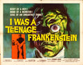 Movie Posters:Horror, I Was a Teenage Frankenstein (American International, 1957...
