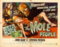 "Movie Posters:Science Fiction, The Mole People (Universal International, 1956). Half Sheet (22"" X28"") Style B, Reynold Brown Artwork.. ..."