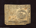 Colonial Notes:Continental Congress Issues, Continental Currency November 2, 1776 $4 Extremely Fine. With theexception of the bottom right corner missing and staining ...