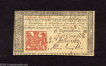 Colonial Notes:New Jersey, New Jersey March 25, 1776 18d Choice About Uncirculated. A lovely example of this small change note with good margins, crisp...