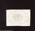 Fractional Currency:First Issue, Fr. 1243SP Narrow Margin Reverse 10c First Issue Gem CrispUncirculated. This is a stunning narrow margin reverse speciment...