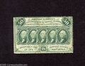Fractional Currency:First Issue, Fr. 1311 50c First Issue About Uncirculated. A lightly circulated example of this difficult perforated variety with no monog...
