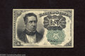 Fractional Currency:Fifth Issue, Fr. 1264 10c Fifth Issue About Uncirculated. A crisp and very well margined example of this much scarcer green seal Meredith...
