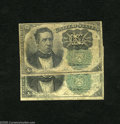 Fractional Currency:Fifth Issue, Pair of Fr. 1264 10c Fifth Issue Fine. A attractive well circulatedpair of scarce green seals that are both well margined a... (2notes)