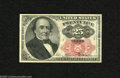 Fractional Currency:Fifth Issue, Fr. 1308 25c Fifth Issue Crisp Uncirculated. The much tougher longkey Walker note which is crisp and well margined but whic...