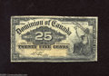 Canadian Currency: , DC-15b 25¢ 1900 Boville is the second of three signatures found onthe 25¢ of 1900. Very Good....