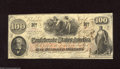 Confederate Notes:1862 Issues, T41 $100 1862. The folds on this Scroll 2 $100 are restricted tothe corner areas. It also carries a January 6, 1863 date. ...