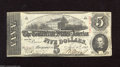 Confederate Notes:1863 Issues, T60 $5 1863. Faint folds are found on this Five. Extremely Fine....