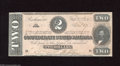 Confederate Notes:1864 Issues, T70 $2 1864. This handsome $2 is of the orange tint variety. Crisp Uncirculated....