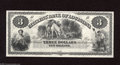 Obsoletes By State:Louisiana, New Orleans, LA- Citizens' Bank of Louisiana $3 18__ This nice black and white remainder features the Hunter vignette. ...