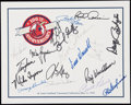 Autographs:Others, 1992 St. Louis Cardinals Greats Multi-Signed Broadside Sheet.. ...