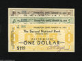 Obsoletes By State:Ohio, Hamilton, OH- Second National Bank $1,$5, $10 Mar. 10, 1933 ThisDepression scrip is signed by the cashier, B.H. Geyer. Mr.... (3notes)
