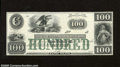 Obsoletes By State:Rhode Island, New Port, RI- New England Commercial Bank $100 18__ This is the first time we have had this note in any of our auctions. ...