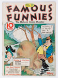 Platinum Age (1897-1937):Miscellaneous, Famous Funnies #10 (Eastern Color, 1935) Condition: FN....