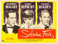 "Movie Posters:Romance, Sabrina (Paramount, 1954). British Quad (30"" X 40""..."