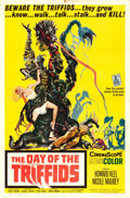 "Movie Posters:Science Fiction, The Day of the Triffids (Allied Artists, 1962). One Sheet (27"" X41"") Joseph Smith Artwork.. ..."