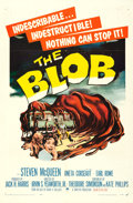 "Movie Posters:Science Fiction, The Blob (Paramount, 1958). One Sheet (27"" X 41"").. ..."