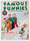 Platinum Age (1897-1937):Miscellaneous, Famous Funnies #19 (Eastern Color, 1936) Condition: VG+....