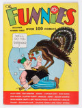 Platinum Age (1897-1937):Miscellaneous, The Funnies #3 (Dell, 1936) Condition: FN+....
