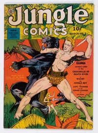 Jungle Comics #3 (Fiction House, 1940) Condition: VF-