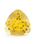 Gems:Faceted, Gemstone: Lemon Quartz - 26.91 Cts.. Brazil. 19.73 x 19.80 x14.57 mm. ...
