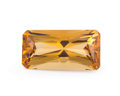 Gems:Faceted, Gemstone: Dark Citrine - 8.96 Cts.. Africa. 9.64 x 18.87 x 7.59 mm. ...