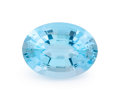 Gems:Faceted, Gemstone: Blue Topaz - 19.64 Cts.. Brazil. 14.14 x 18.84 x 9.68mm. ...